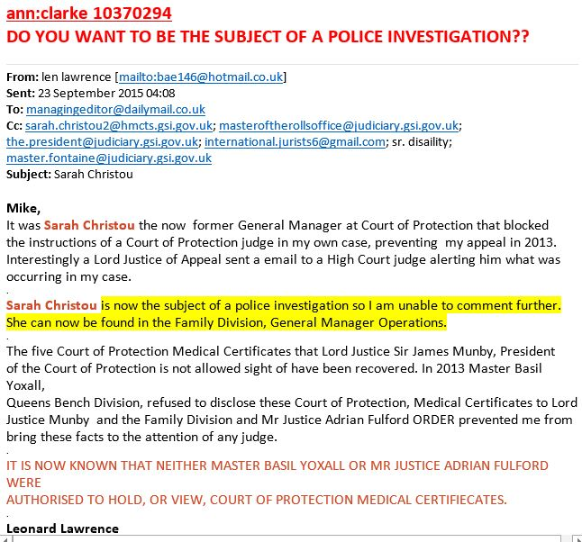 Opg public guardian me the carer september 23 2015 622530visits court refusal to cooperate fandeluxe Images