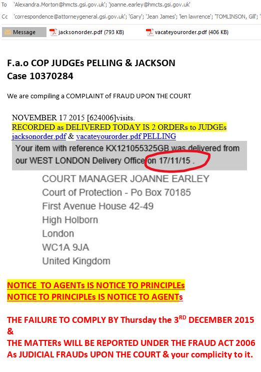 Opg public guardian me the carer was sent to the court of protection judges fandeluxe Choice Image