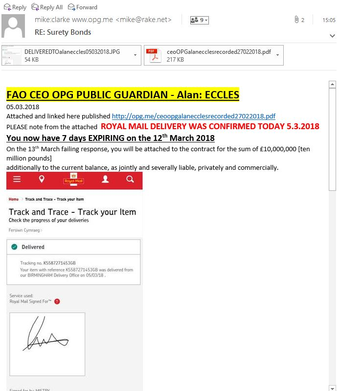 Opg public guardian me the carer to confirm royal mail contract fandeluxe Choice Image